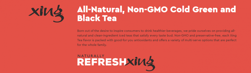Xing Tea – Case Stack Deal – Turnpike Sales